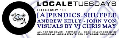 Locale Tuesdays flier